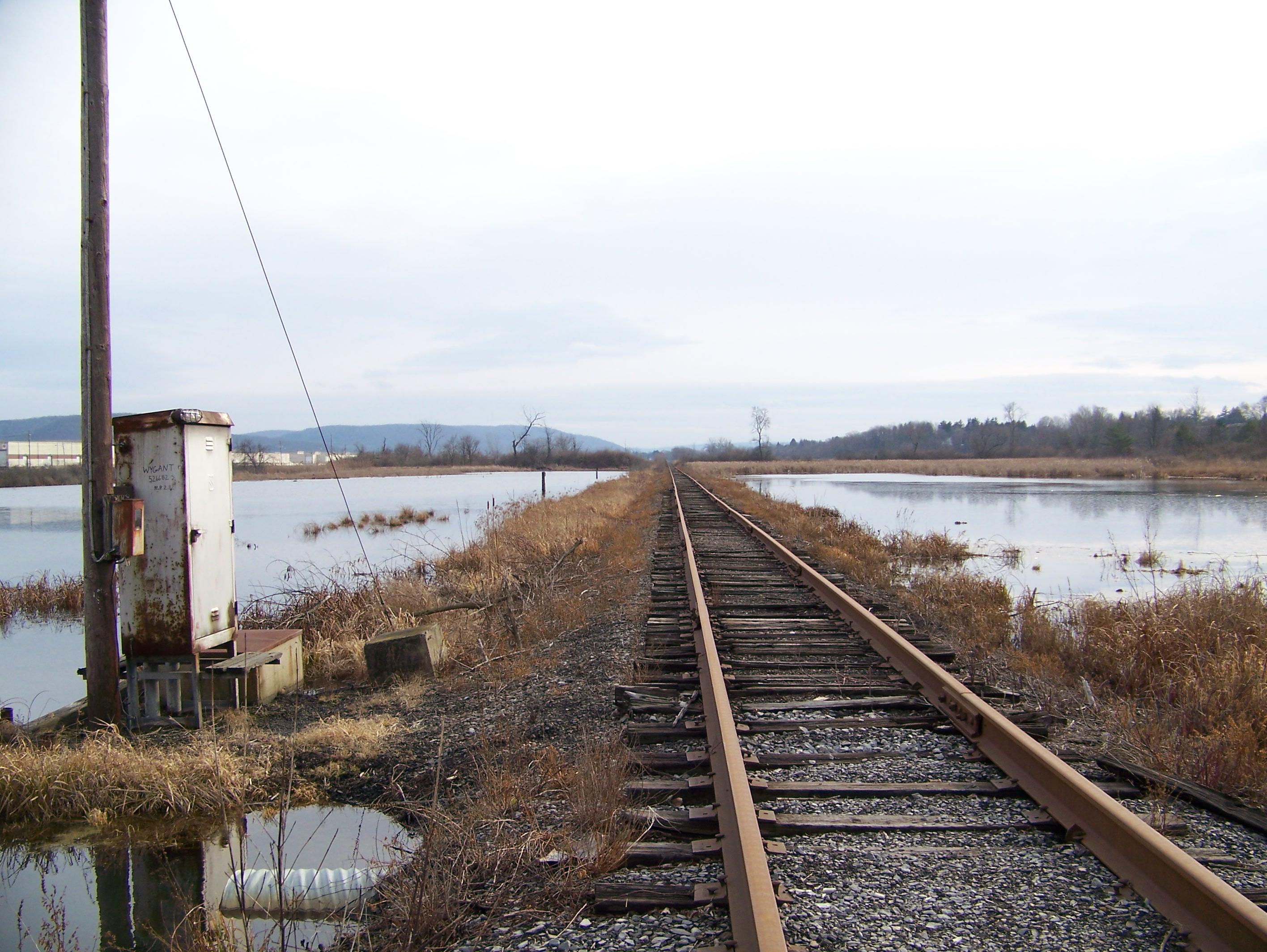 Train Tracks, Marshlands