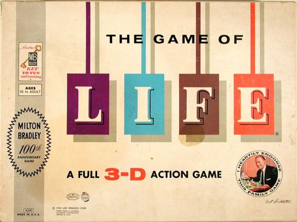 http://www.museumofplay.org/blog/play-stuff/2010/11/the-game-of-life-a-2010-national-toy-hall-of-fame-inductee/