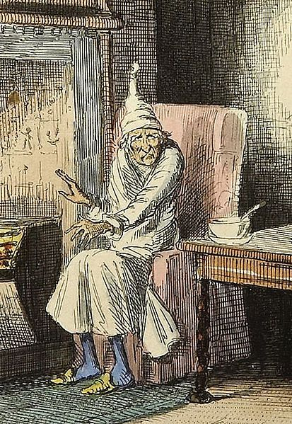 Scrooge-from-Charles-Dickens-A-Christmas-Carol-image-by-John-Leech-public-domain