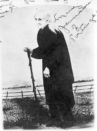 1907 Postcard Depicting Mary Jemison