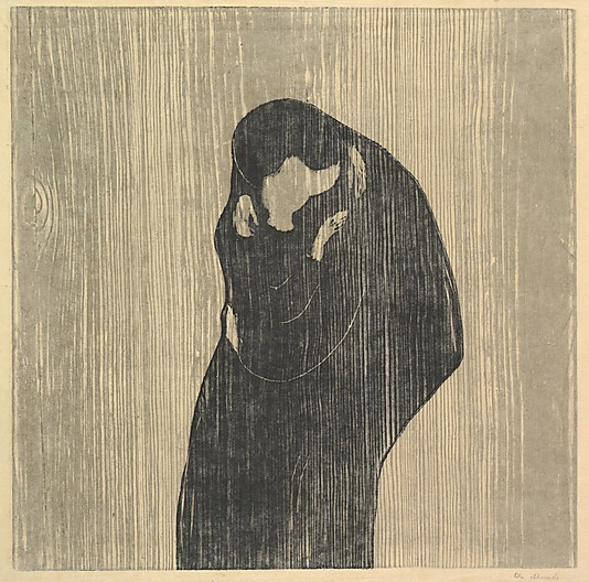 The Kiss IV  Edvard Munch Courtesy Metropolitan Museum of Art