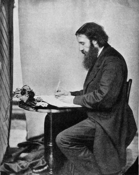 MacDonald Writing, 1862.