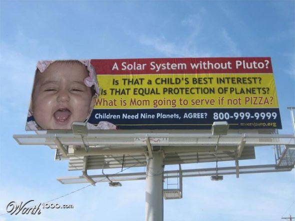 Save Pluto! Courtesy http://all.worth1000.com/artists/Dragon0471