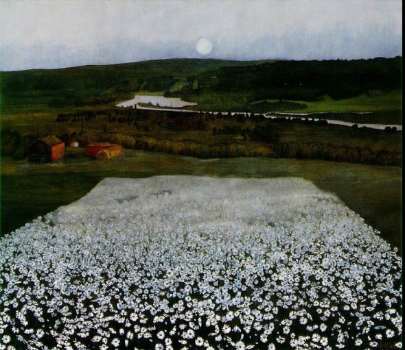 Flower Meadow in the North - Harald Sohlberg 1905