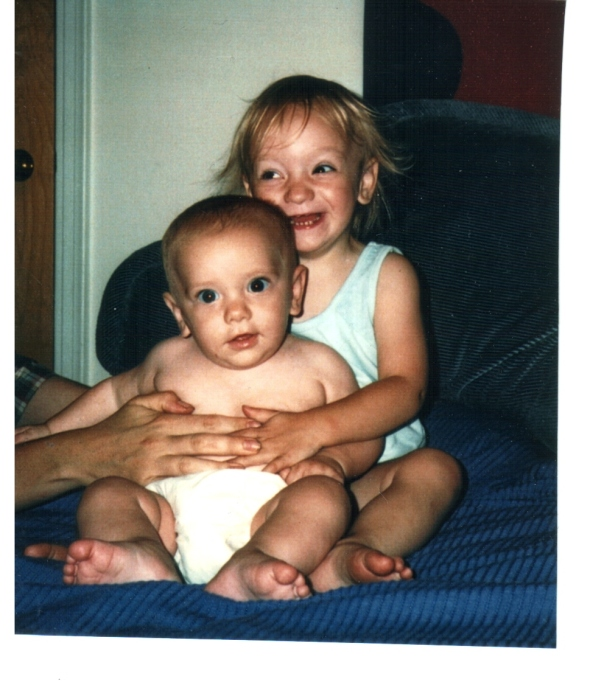 Maggie and Baby Aidan