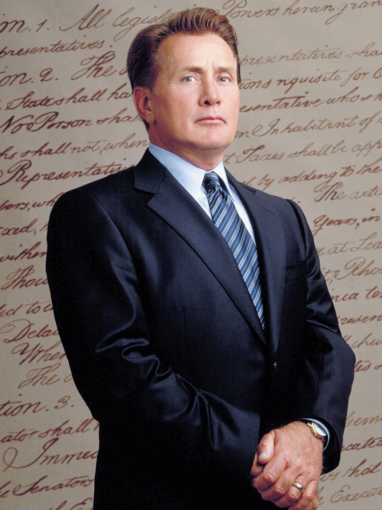 Martin Sheen as President Josiah Bartlet -- NBC Photo: David Rose. Courtesy The Urbanlist.com