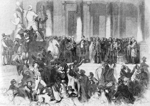 Inauguration of Franklin Pierce