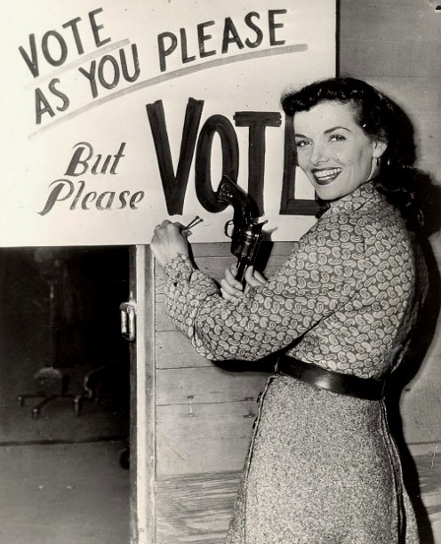 Vote As You Please - But Please Vote - And Please Don't Use a Pistol As a Hammer