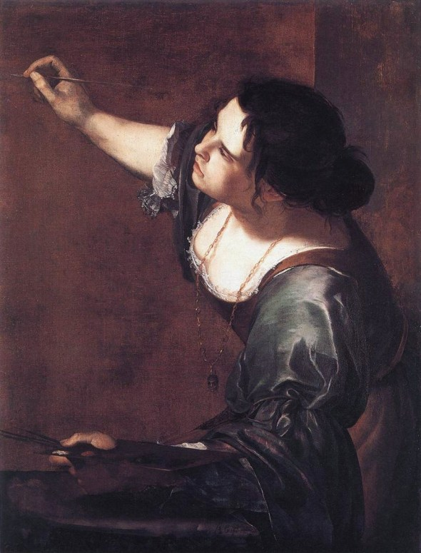 Artemisia Gentileschi (1593–1653) Self-Portrait as Allegory of Painting c 1630