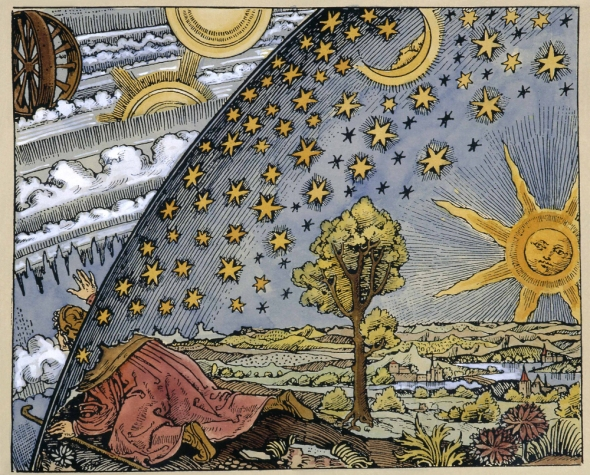 The Flammarion Engraving: A metaphorical illustration of either the scientific or the mystical quests for knowledge. I'd be down with either.
