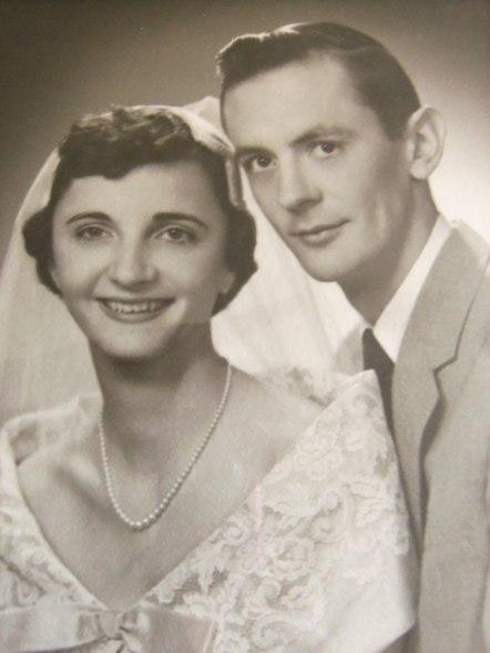 Fotografía de la boda, 1955