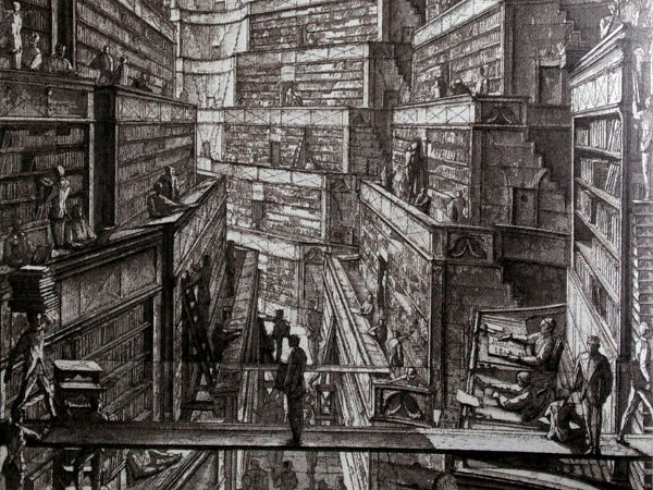 essay on the library of babel The new library of babel borges, digitisation and the myth of a universal library  a short story and an essay, this article challenges the premise that such a.