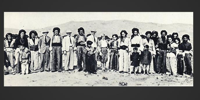 Freya Stark Among the Herki in Kurdistan