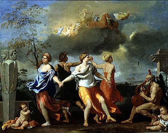 Nicholas Poussin, A Dance to the Music of Time, 1639
