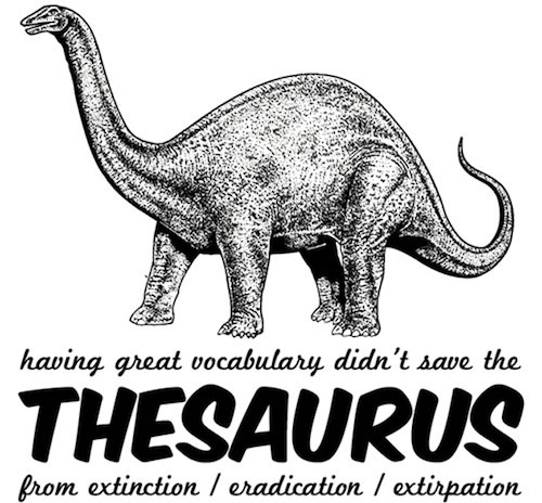 Thesaurus-Dinosaur