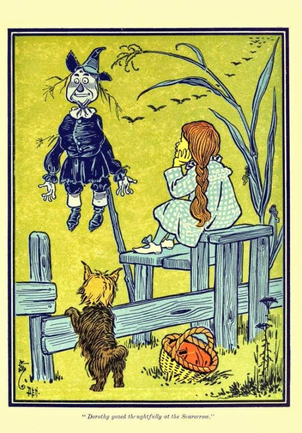L. Frank Baum, The Wizard of Oz. Illustration by William Wallace Denslow