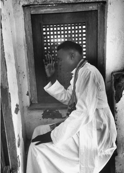 Confessional 1953 Belgian Congo