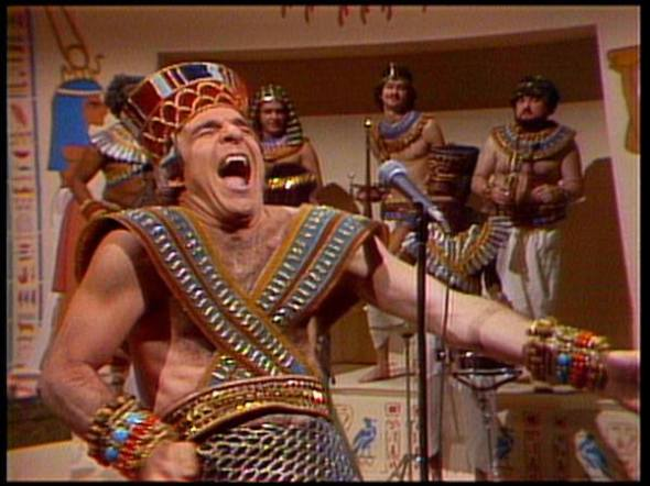 Steve Martin as King Tut
