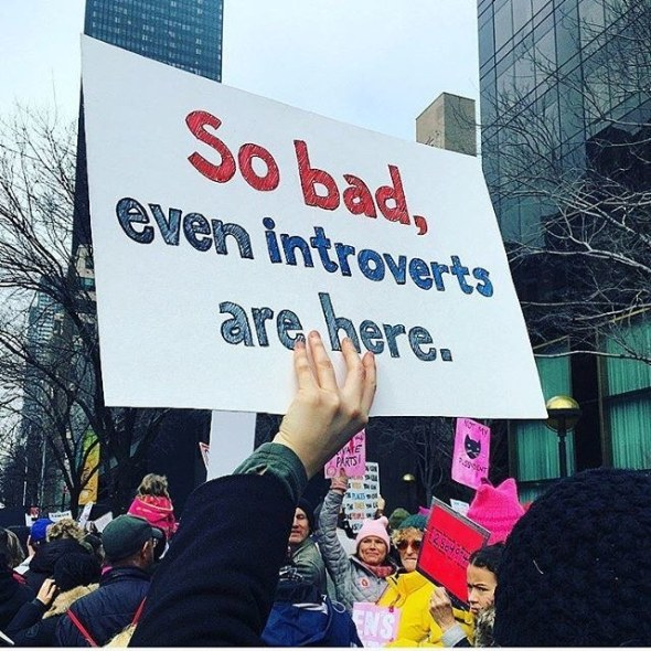 instagram/@larabriden Courtesy Teen Vogue, which has 40 other great signs.