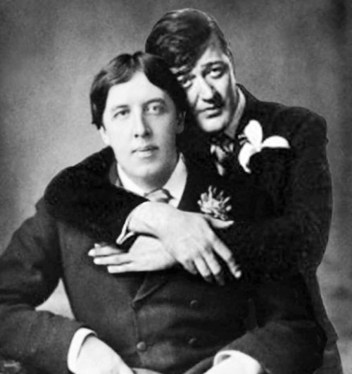 Oscar Wilde and Stephen Fry
